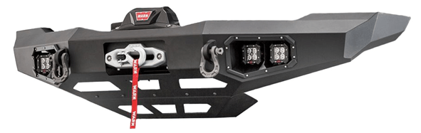 WARN (104256): Ascent Series Front Bumper for `19+ Dodge Ram HD 2500/3500