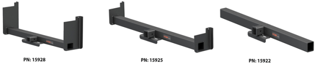 CURT (15920–15928): Weld-On Trailer Hitch