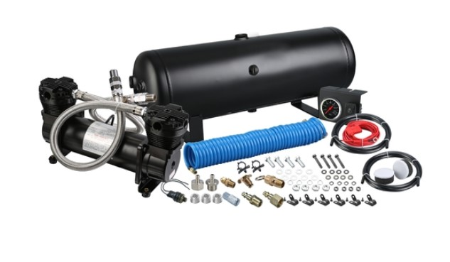 Bulldog Winch On-Board Air Kits