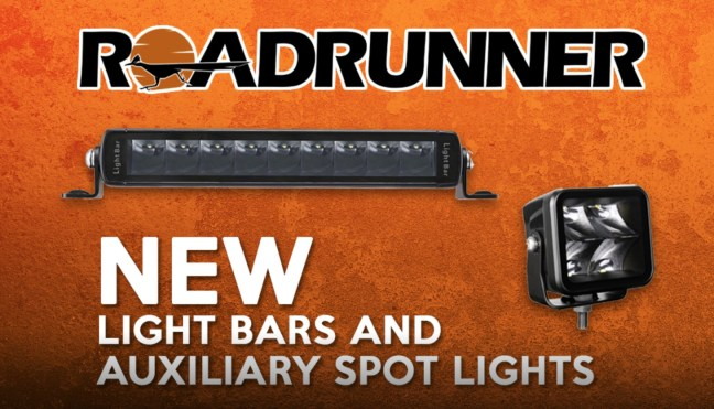 Race Sport Lighting: RoadRunner Series Light Bars and Auxiliary Spotlights