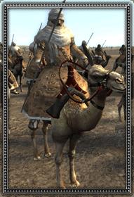 Tuareg Camel Spearmen 圖雷格駱駝騎兵 - The Moors 摩爾帝國 - Medieval II Total War 中世紀2 - Grand Campaign 帝國會戰