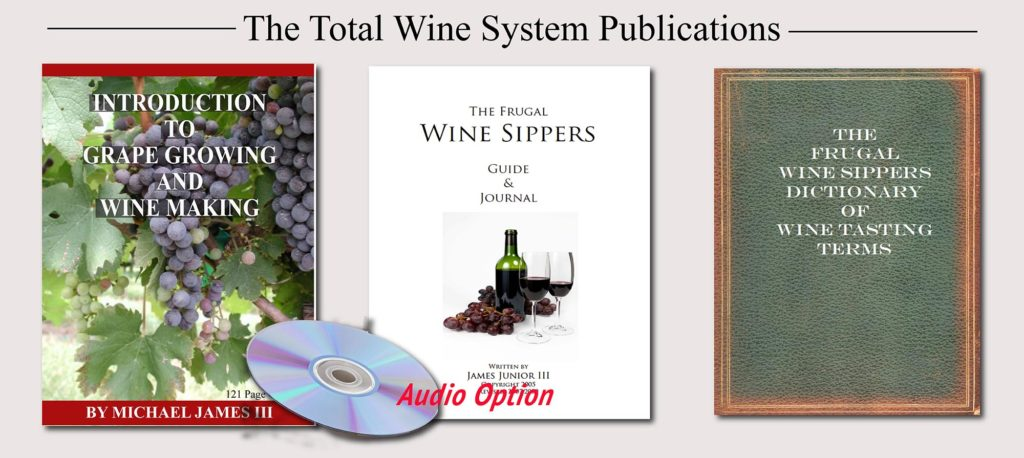 Grape Growing And Wine Making   The Total Wine Making System  Image of TWS 3 book sales audio page 2k 1024x458