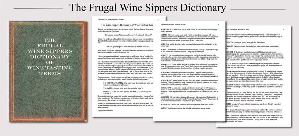 Grape Growing And Wine Making   The Total Wine Making System  Image of TWS Frugal dictionstysales page vf 1024x468