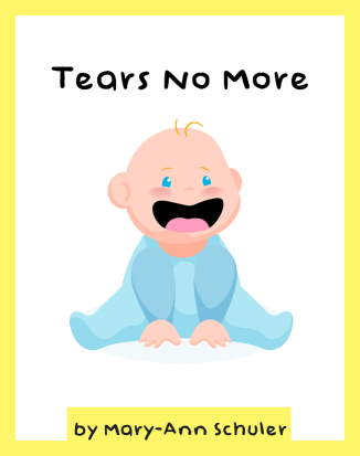 "Image is the cover of the free eBook download ""Tears No More""."