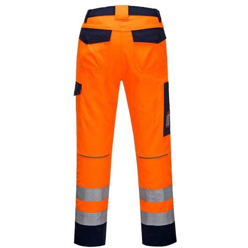 Pantaloni Modaflame RIS Portocaliu/Navy PortWest MV36