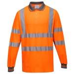 Tricou Polo Cotton Comfort cu Maneci Lungi PortWest S271