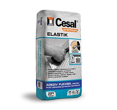 Adeziv pentru placi ceramice si piatra naturala Cesal Premium Elastik