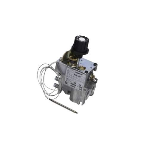 Valva de gaz termostatica tip seria 630 Eurosit T.max. 340°C 100-340°C intrare gaz 3/8″