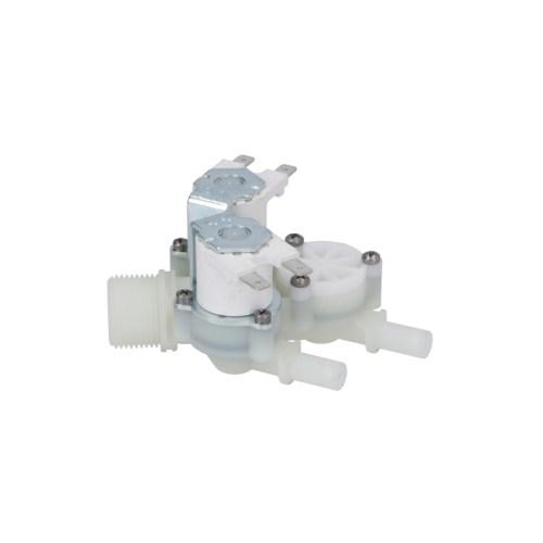 Electrovalva triplu drept 230VAC intrare 3/4″ ieșire 10mm intrare 10-12l/min T.max. 90°C RPE