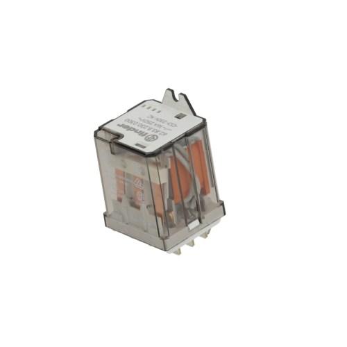 Releu de putere FINDER 230VAC 16A 3NO racord fișă plată masculină 6,3mm flanșă