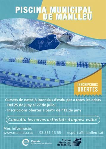 curs natació estiu manlleu