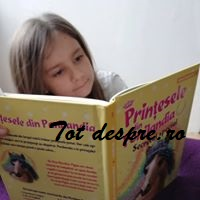 prințesele din ponilandia , copiii citesc
