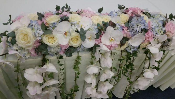 aranjamente florale orhidee .nunta