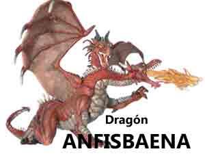 Anfisbaena dragon leyenda