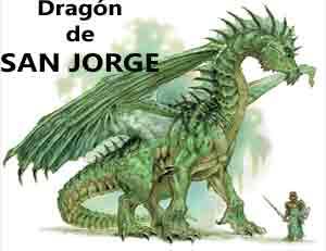 leyenda del dragón de San Jorge