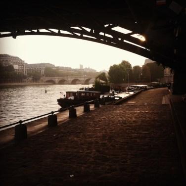 Seine River Bridge Paris