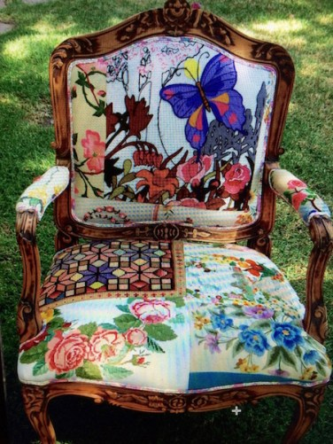 70s-Patchwork Chair 2
