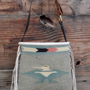 Chimayo Thunderbird Shoulder Tote
