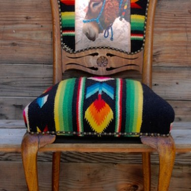 Donkey Flower Chair