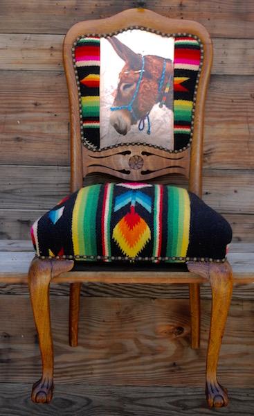Donkey Flower Chair