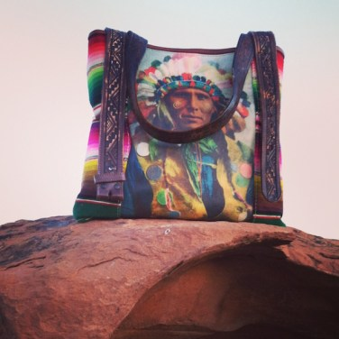 Colorful Chief At Red Rock