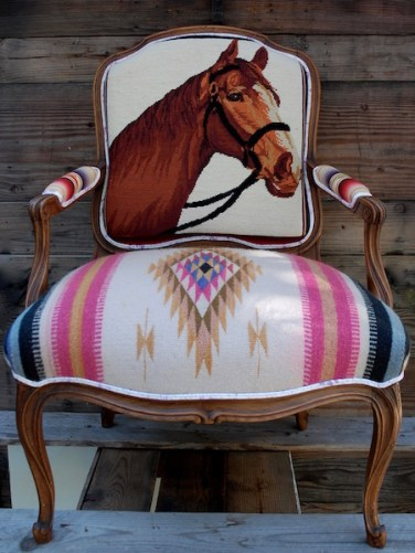 TOTeM Pink Horse Chair