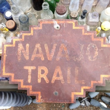 Navajo Trail Sign
