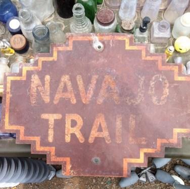 Navajo Trail Sign