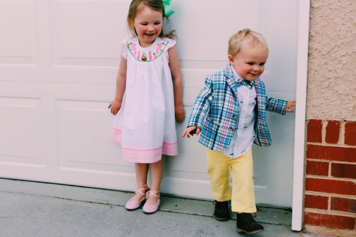 Easter Baskets and Outfits