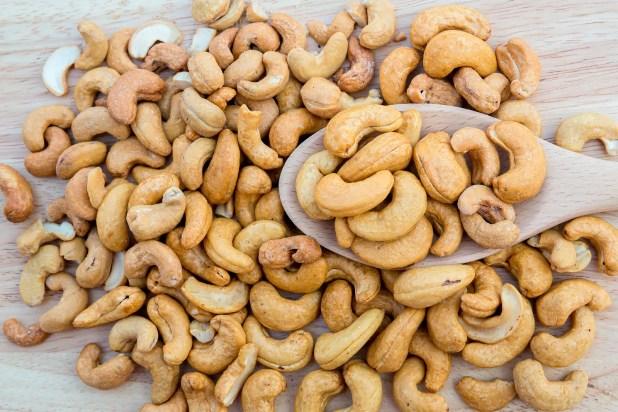 Tasty cashew .
