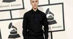 Justin Bieber at the 58th GRAMMY Awards held at the Staples Center in Los Angeles, USA on February 15, 2016.