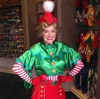 Disneyland character in full dress