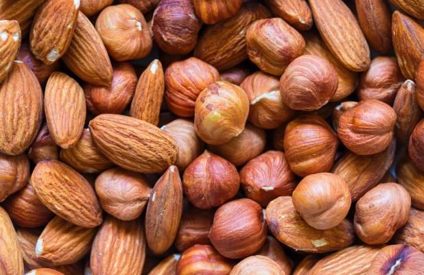 Nuts pile
