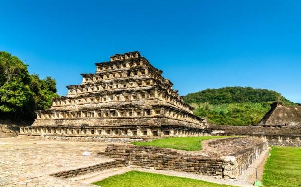 Pyramid of the Niches at El Tajin archeological site