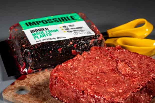 Packaging for Impossible Foods