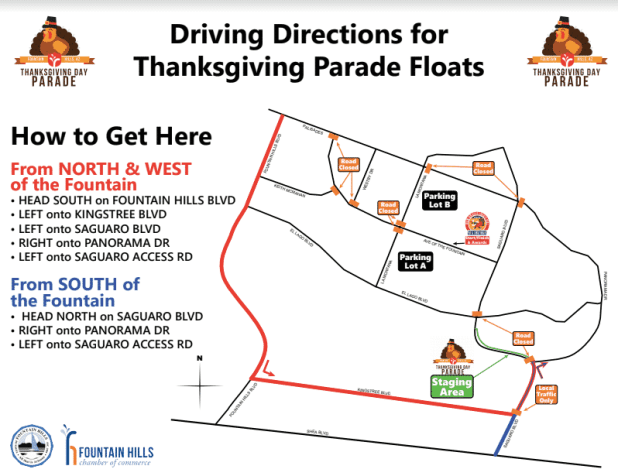 Fountain Hills Thanksgiving Parade Goes on Rain Or Shine (1)