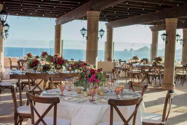 wedding at Hacienda Encantada resort