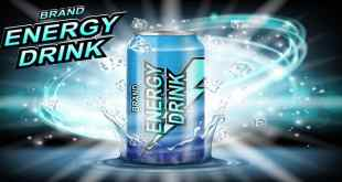 energy drink in a can