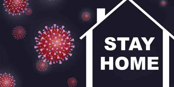 stay at home banner