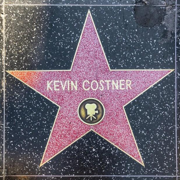 Kevin Costner's star