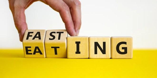Fasting or eating symbol