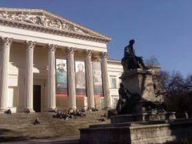 国立博物館、建物は1847年のネオクラッシクのものです