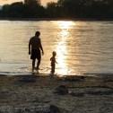 私と息子。