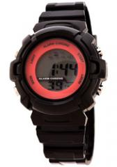 FMD by Fossil Ladies Standard 3 Hand Analog Plastic Watch Black