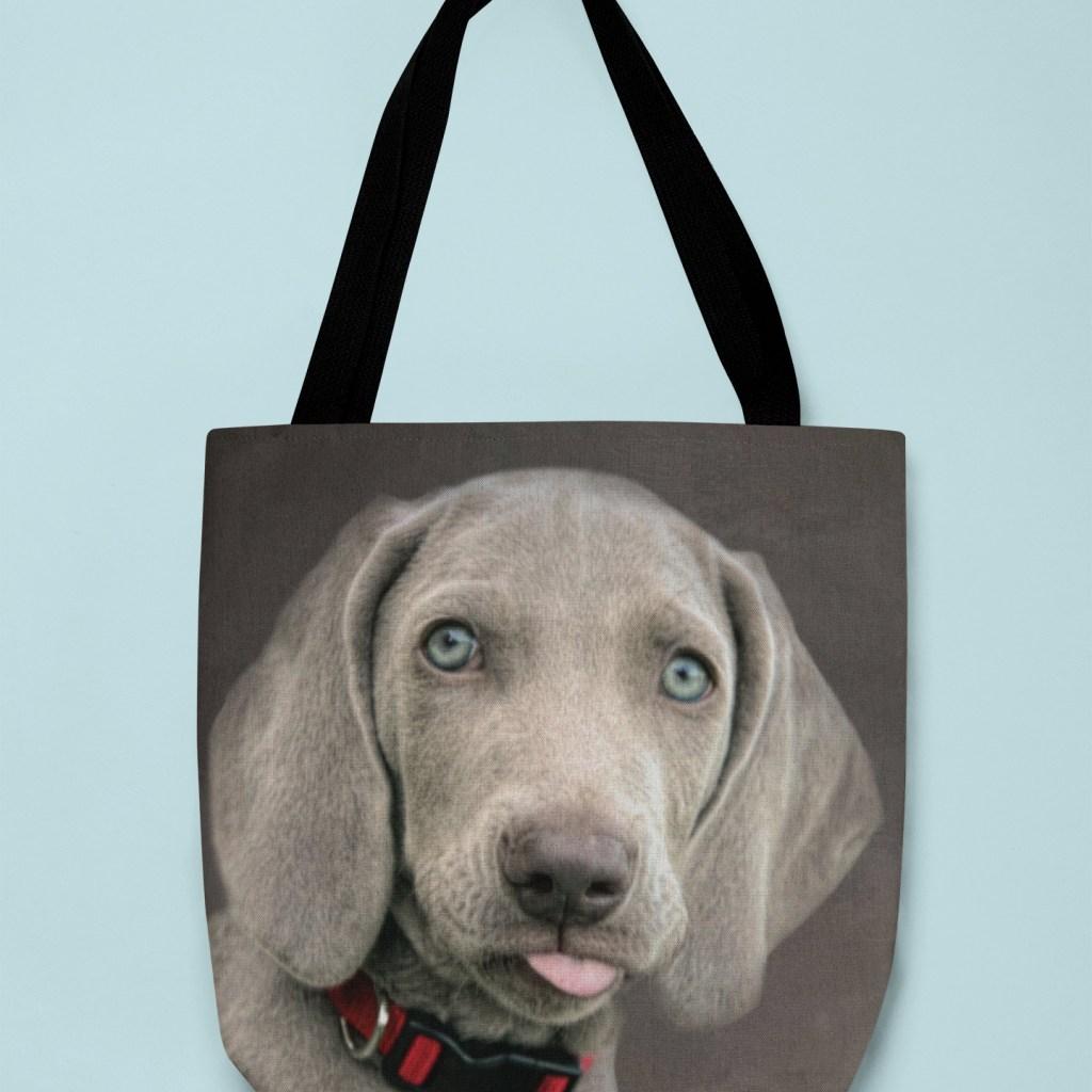 WEIMARANER PUPPY - Tote Bag