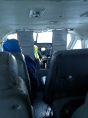 """I flew in a 9 seater to Yellowknife this weekend. My moms response to this picture sums it up perfectly, """"You're so close to the pilot!"""""""