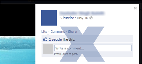 Stop public from commenting on Facebook Cover photos