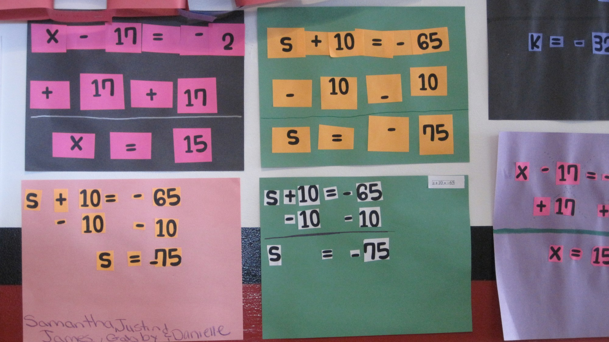 hight resolution of Solving One-Step Equations Cut and Paste Activity   tothesquareinch