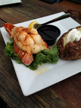 Lobster tail from Pier 14.