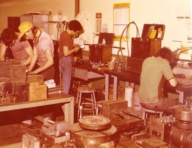 The Good Ole Days at Toth Mold/Die Inc.